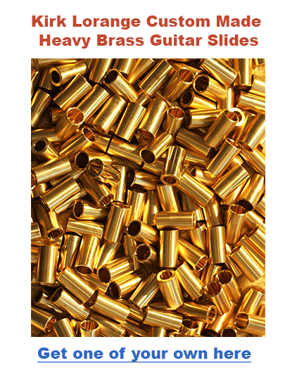 Heavy Brass Guitar Slides