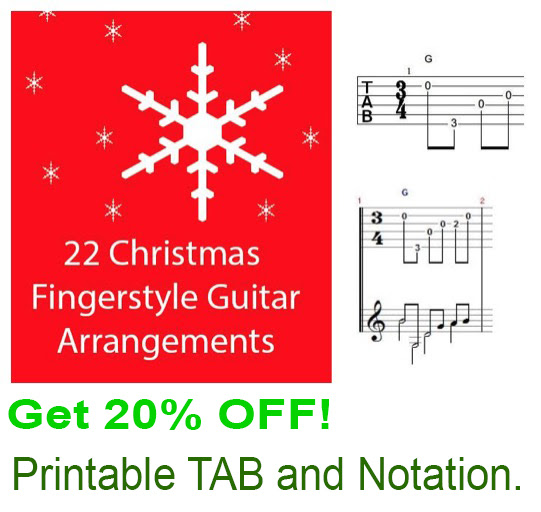 Christmas Fingerstyle Lessons