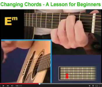 Changing chords for beginners